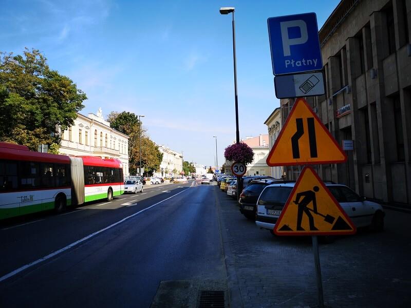 Strefa Płatnego Parkowania na Krakowskim Przedmieściu