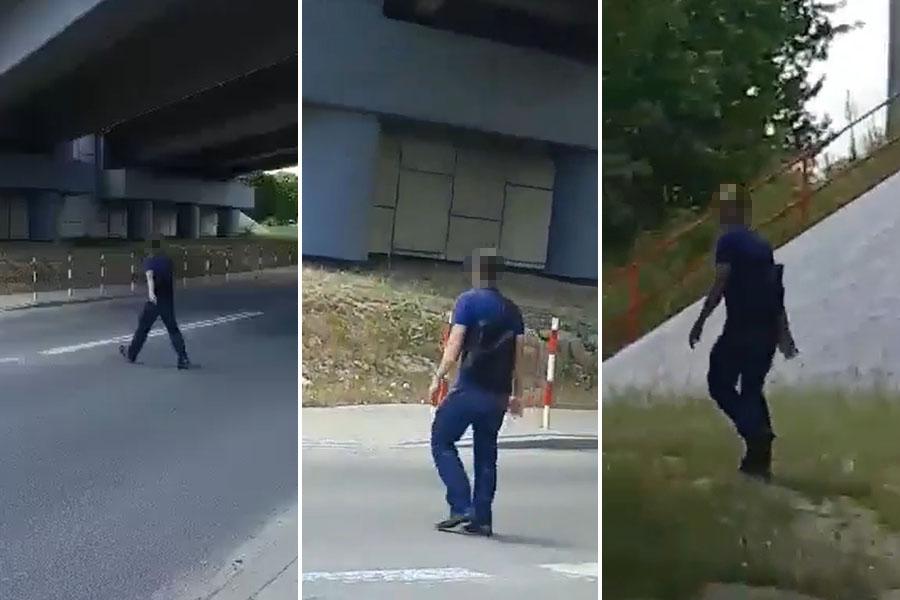 Zboczeniec obmacywał kobietę ul. Rataja w Lublinie