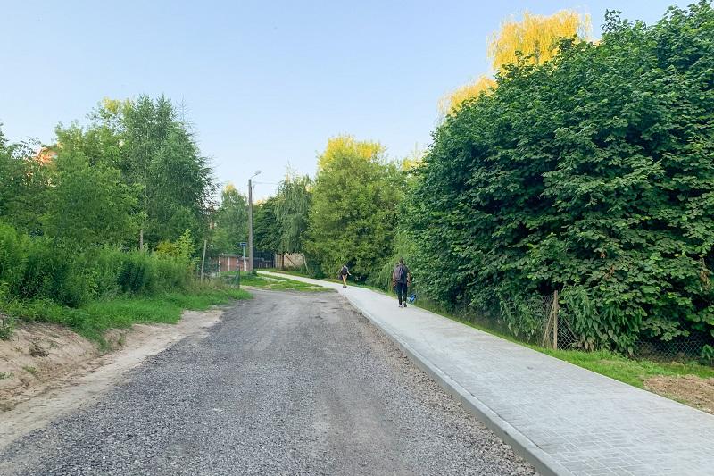 Nowe dojście do przystanku PKP Lublin-Zachód