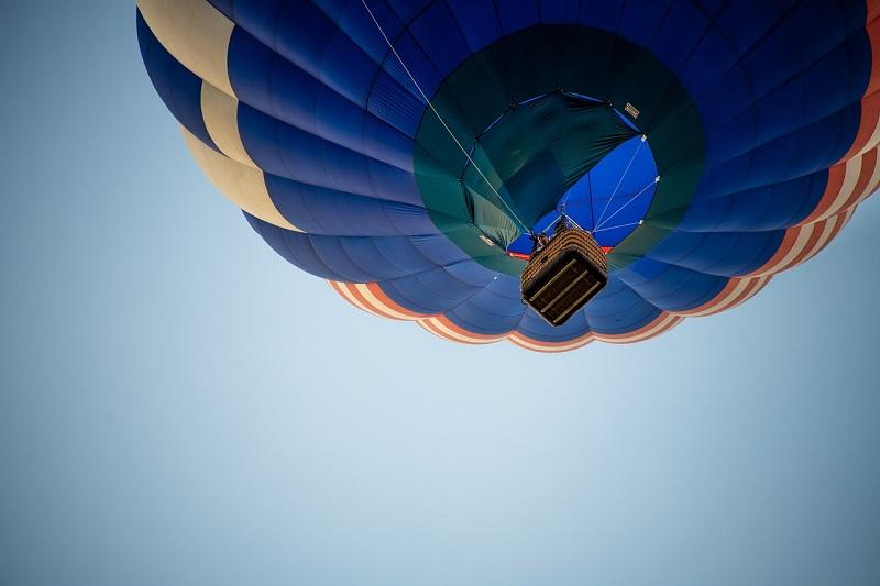 balon na ogrzewane powietrze