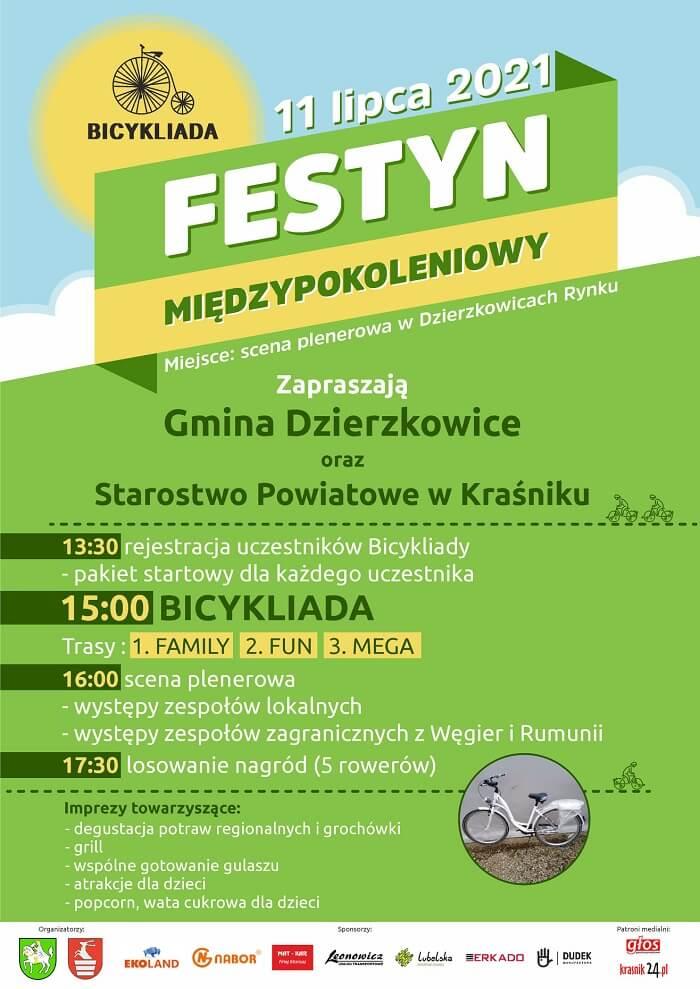Bicykliada 2021 w Dzierzkowicach