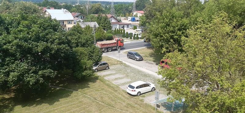 Budowa trzeciego sklepu Aldi w Lublinie - przy ul. Romera
