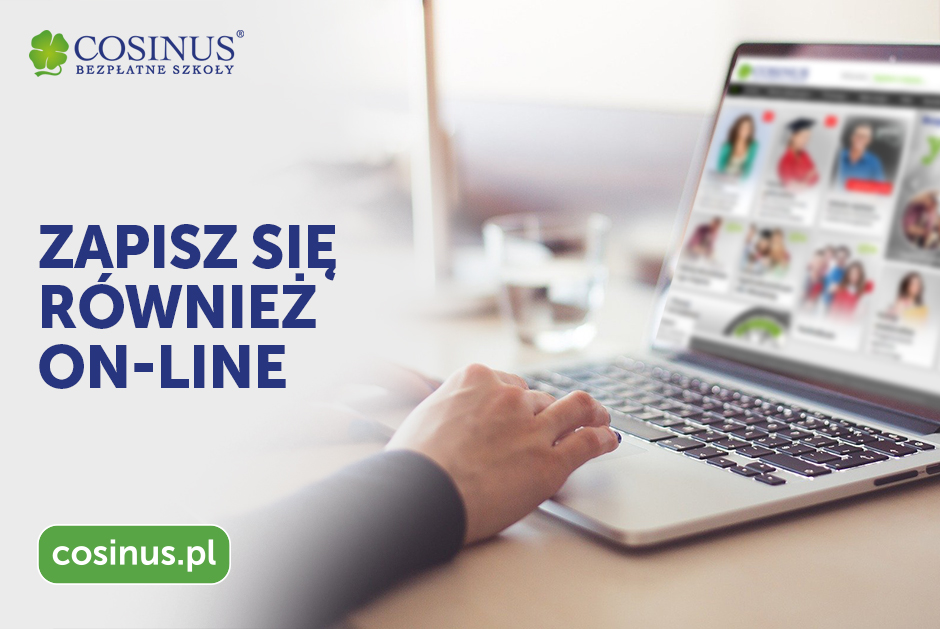 Zapisy online Cosinus