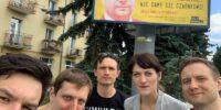 Akcja Demokracja odsłoniła w Lublinie pierwszy billboard z hasłem #CzarnekOut