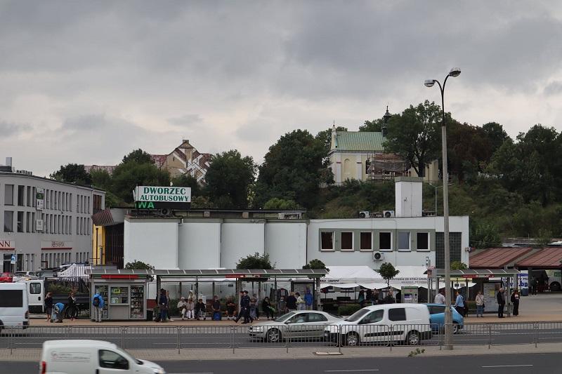 Budynek dworca autobusowego PKS przy al. Tysiąclecia w Lublinie