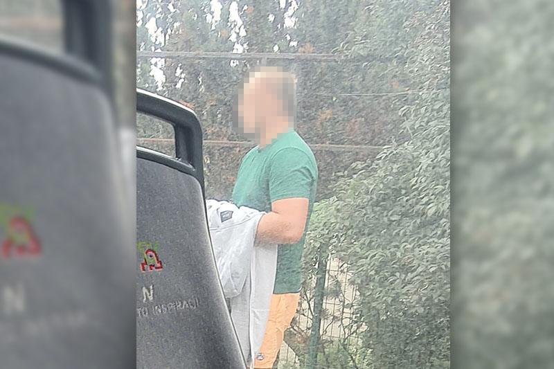 Mężczyzna onanizował się na przystanku w Dębówce