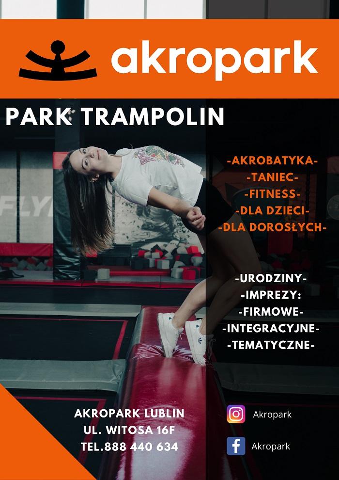 Oferta parku trampolin AKROPARK Lublin