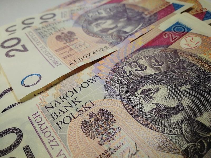 pieniądze banknoty 20 złotych
