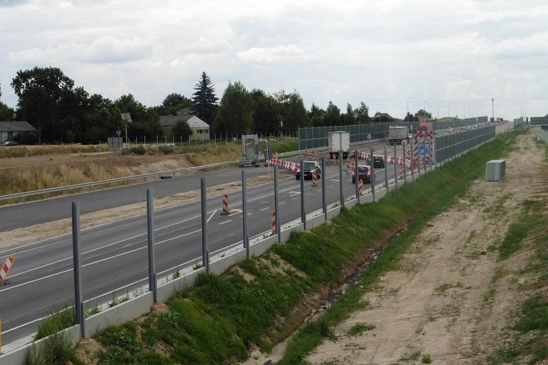 Tymczasowa organizacja ruchu na odcinku S19 Lublin - Niedrzwica Duża