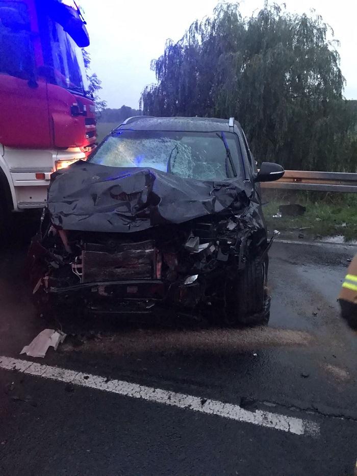 Tragiczny wypadek z udziałem volkswagena i kii w Łęcznej