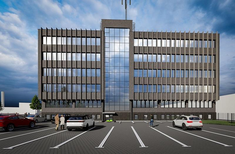 Wizualizacja nowej siedziby Izby Administracji Skarbowej w Lublinie