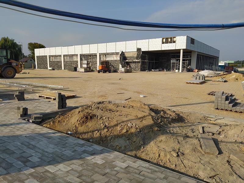 Budowa sklepu Aldi przy ul. Sendlerowej (Poligonowa) w Lublinie
