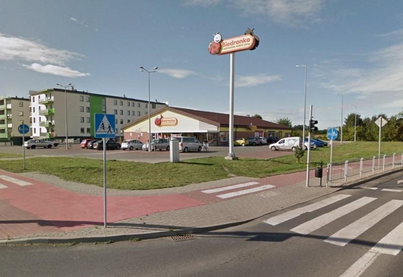 Biedronka przy ul. Gęsiej w Lublinie