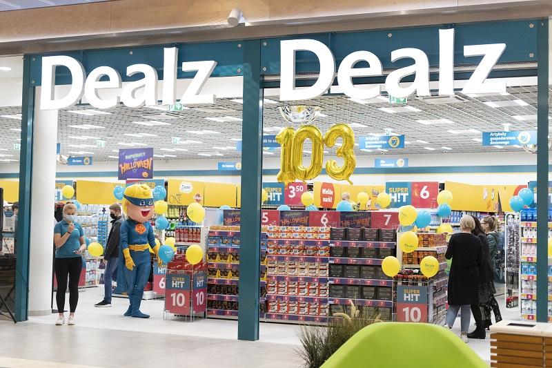 Otwarcie brytyjskiego sklepu Dealz w Skende Shopping