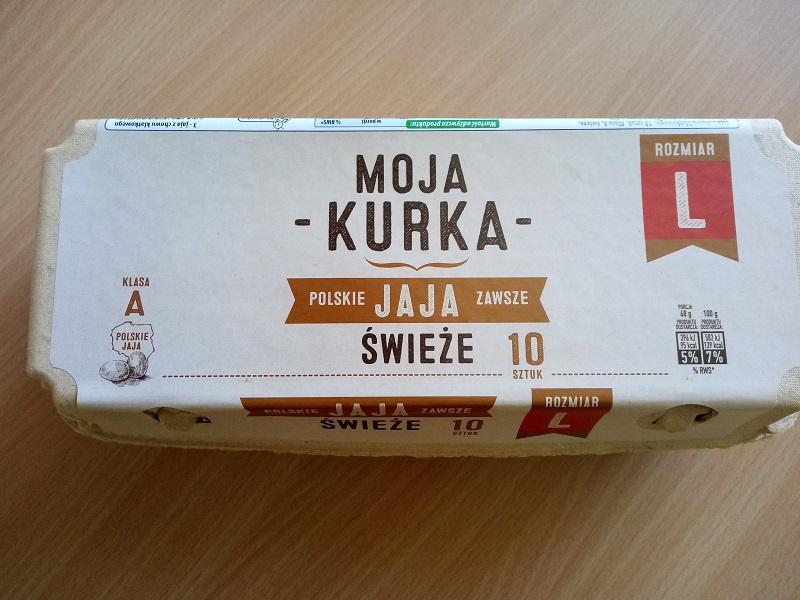 Partia jajek Moja Kurka z Biedronki wycofana ze sprzedaży