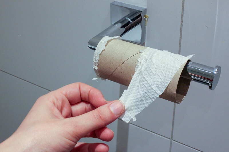 papier toaletowy rolka