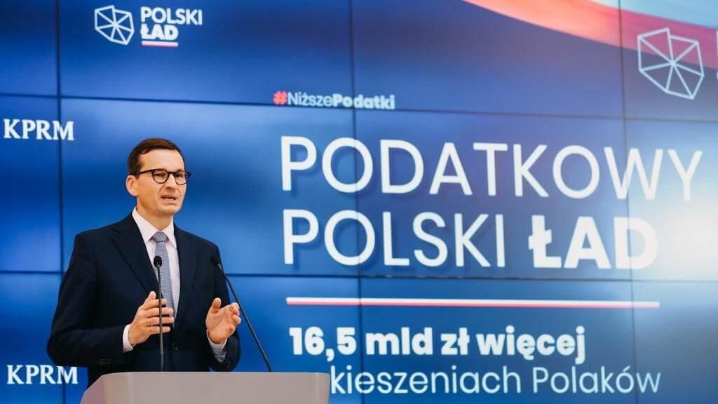 Premier Mateusz Morawiecki o zmianach podatkowych w ramach Polskiego Ładu