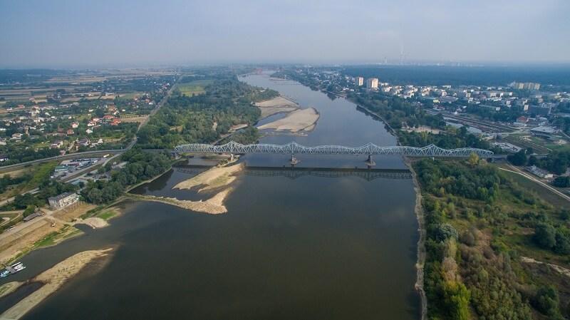Podnosi się stan Wisły w Puławach