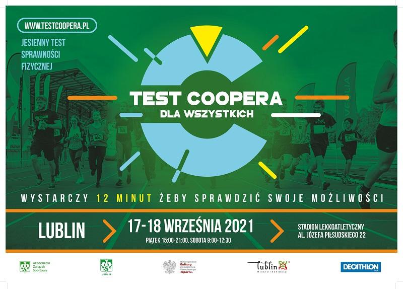 Test Coopera w Lublinie 2021