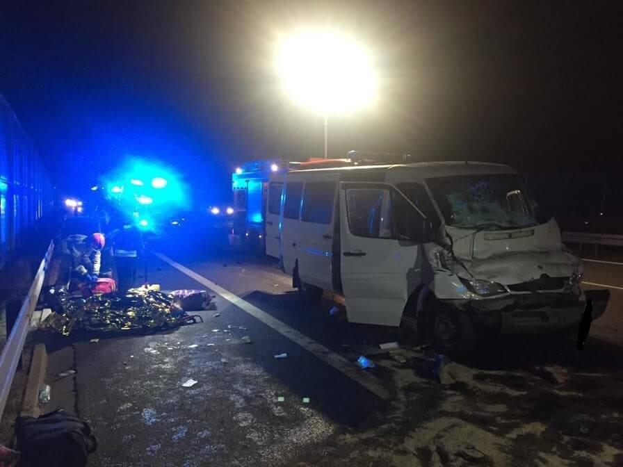 Zderzenie dwóch busów na obwodnicy Lublina S12/17