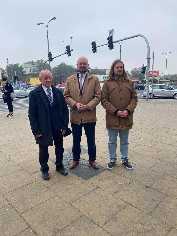 Na zdjęciu (od lewej): Stanisław Brzozowski, Bartłomiej Pejo, Rafał Kulicki