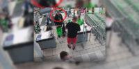 Mężczyzna przywłaszczył telefon należący do innego klienta sklepu