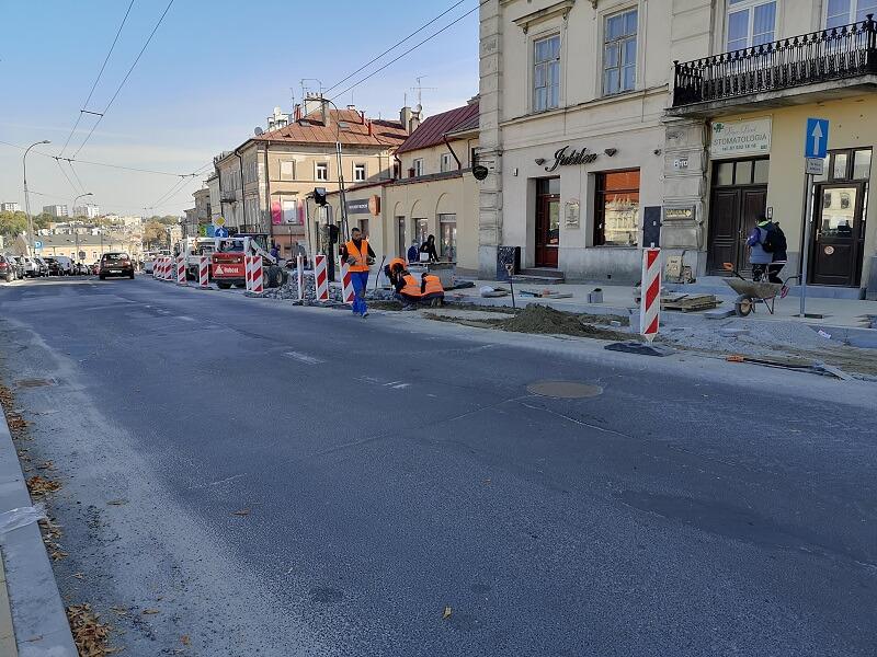 Remont chodników wzdłuż ul. Lubartowskiej