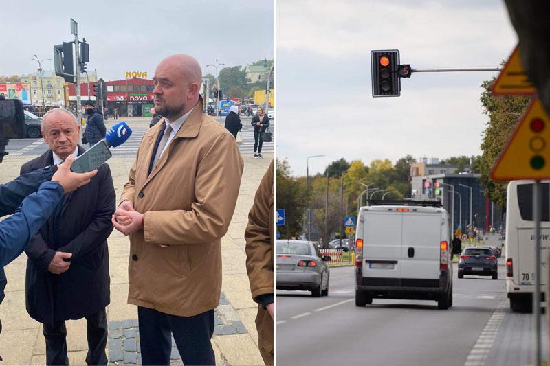Bartłomiej Pejo apeluje o montaż sekundników na skrzyżowaniach w Lublinie