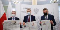 Specjalne wydanie Kuriera Lubelskiego dotyczące szczepień trafi do mieszkańców woj. lubelskiego